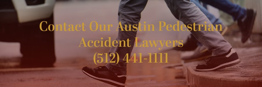 Austin pedestrian accident lawyers